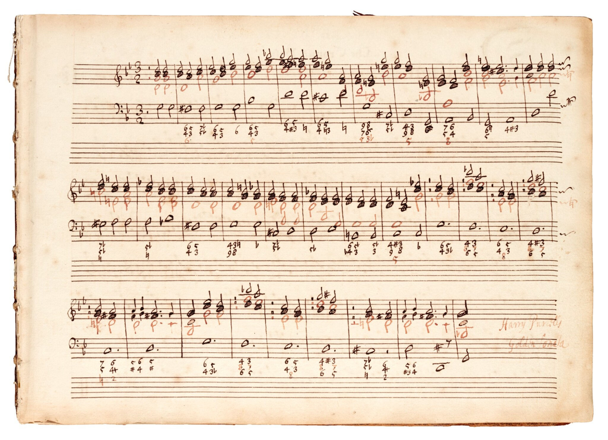 View full screen - View 1 of Lot 81. H. Purcell. 'The Armstrong-Finch manuscript'. Important early volume of sonatas for violin and for flute, 1691-1720.