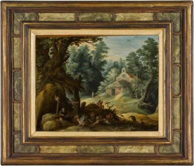 View 2. Thumbnail of Lot 17. The Temptation of Saint Anthony   《聖安東尼的試探》.