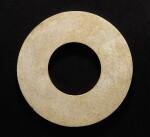 A JADE RING, HUAN NEOLITHIC PERIOD, LIANGZHU CULTURE | 新石器時代 良渚文化玉環