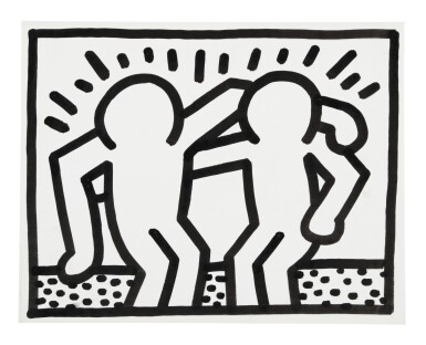 Keith Haring's Greatest Hits: The Pop Shop Drawings