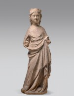 FRENCH, PROBABLY ILE-DE-FRANCE, SECOND QUARTER 14TH CENTURY | STANDING VIRGIN