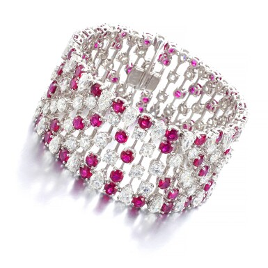 GRAFF | RUBY AND DIAMOND BRACELET