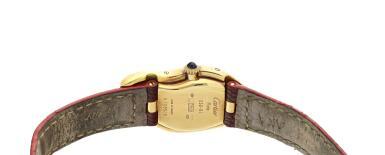View 4. Thumbnail of Lot 223. Crash A limited edition yellow gold asymmetrical wristwatch, Circa 1991.