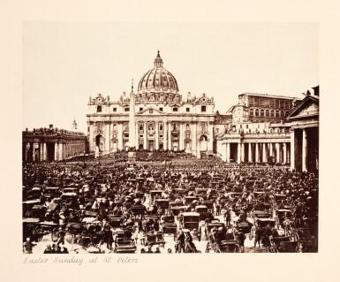 View 2. Thumbnail of Lot 96. Rome   Marion & Co., album of 78 photographs, [c.1870s-1880s].