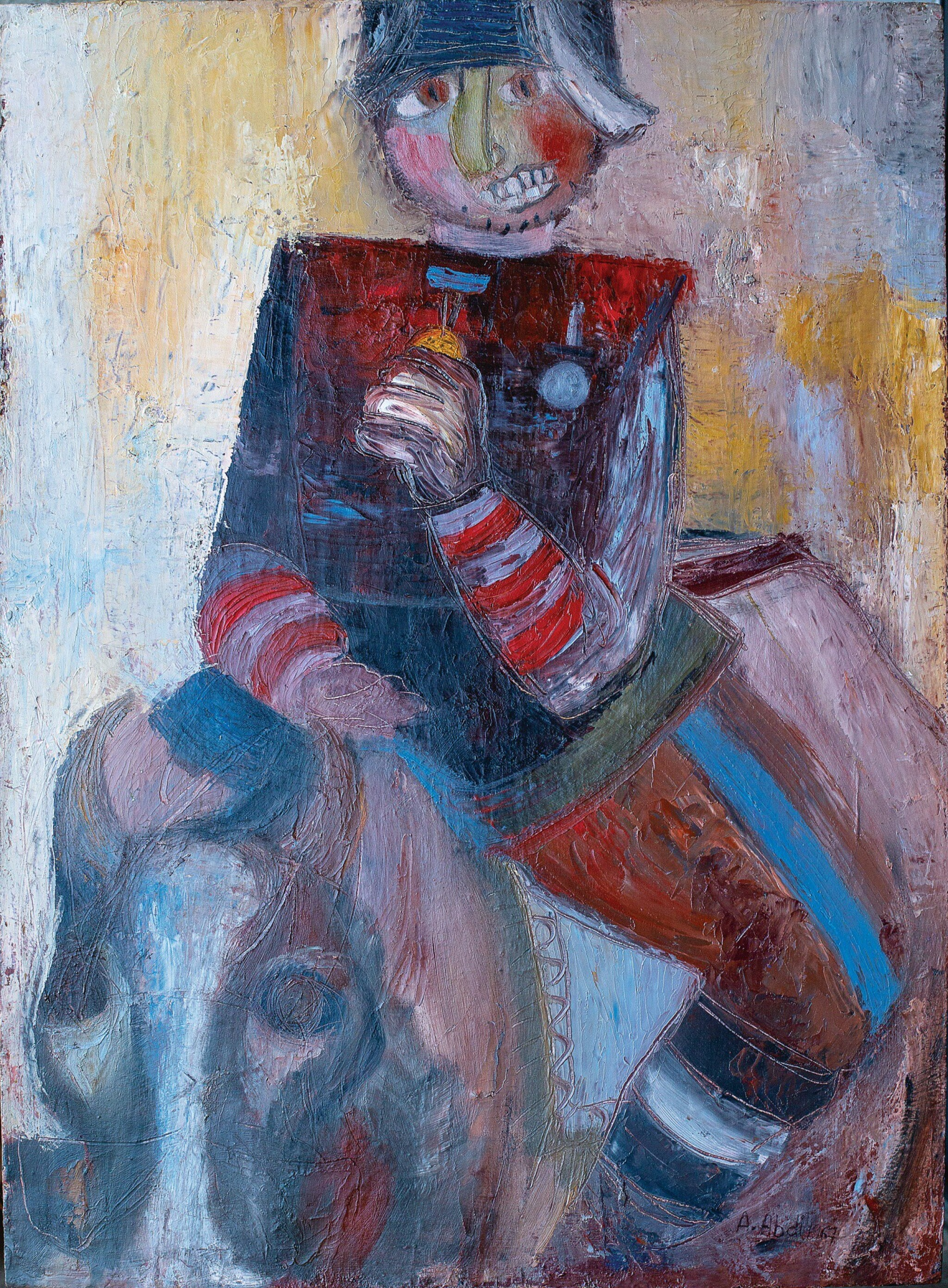 View full screen - View 1 of Lot 20. ABED ABDI | DON QUICHOTTE RIDING NEITHER A DONKEY NOR A HORSE.