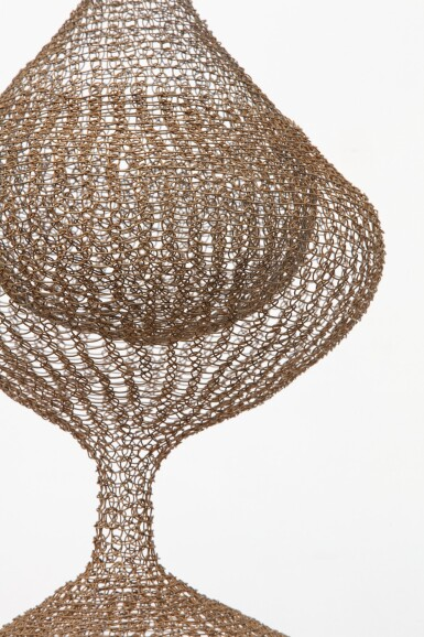 View 3. Thumbnail of Lot 11. RUTH ASAWA   UNTITLED (S.267, HANGING SIX-LOBED, FOUR PART, DISCONTINUOUS SURFACE, WITH INTERIOR FORMS IN THE THIRD, FOURTH, AND FIFTH LOBES).