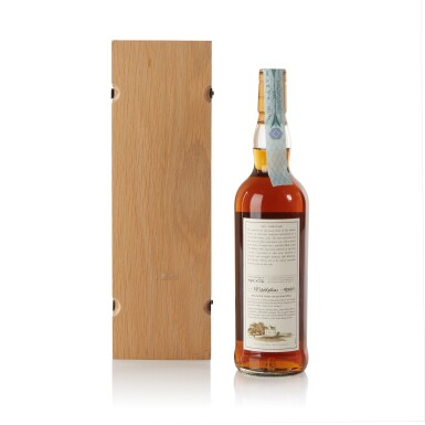 View 2. Thumbnail of Lot 34. The Macallan Fine & Rare 51 Year Old 52.3 abv 1951 .