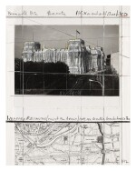 CHRISTO AND JEANNE-CLAUDE | WRAPPED REICHSTAG (PROJECT FOR BERLIN)
