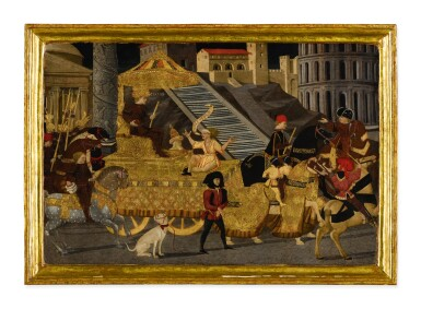 View 1. Thumbnail of Lot 13. Triumph of Julius Caesar.