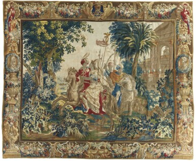 A FLEMISH MYTHOLOGICAL TAPESTRY, ANTWERP LATE 17TH/EARLY 18TH CENTURY