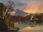 American Landscape with Indians