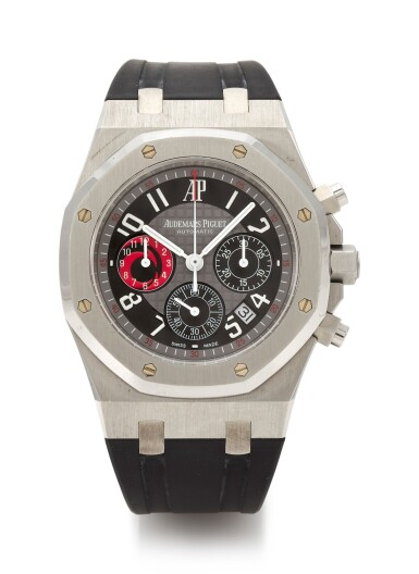 ROYAL OAK CHRONOGRAPH ALINGHI EDITION, REFERENCE 25979 LIMITED EDITION STAINLESS STEEL CHRONOGRAPH WRISTWATCH WITH DATE (CRONOGRAFO IN ACCIAIO INOSSIDABILE CON DATARIO IN EDIZIONE LIMITATA) CIRCA 2003 | AUDEMARS PIGUET