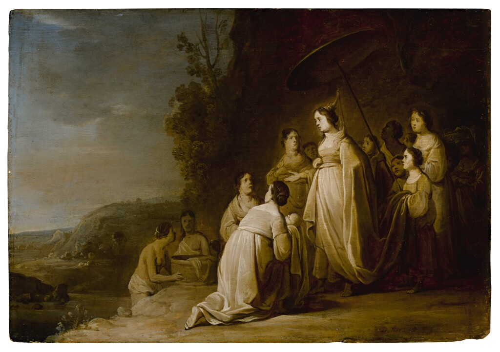 DANIEL THIEVART   THE FINDING OF MOSES