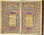 AN ILLUMINATED QUR'AN, PERSIA, QAJAR, CIRCA 1800