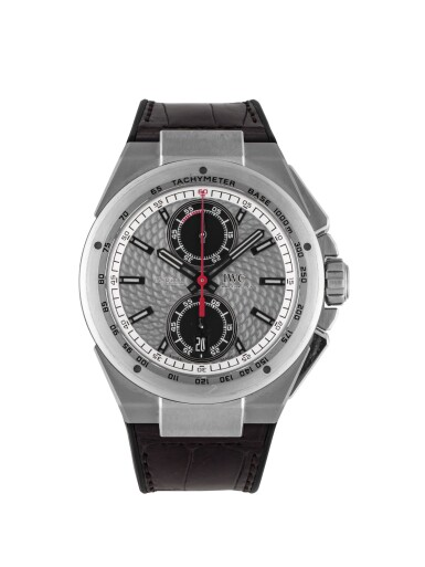 IWC | INGENIEUR SILBERPFEIL, REF 378505 LIMITED EDITION STAINLESS STEEL CHRONOGRAPH WRISTWATCH WITH DATE  CIRCA 2013