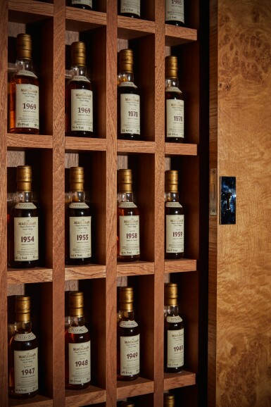 View 5. Thumbnail of Lot 161. THE MACALLAN FINE & RARE MINIATURE COLLECTION          .
