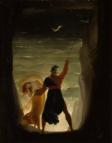 JOSEPH SEVERN | PROSPERO AND ARIEL, FROM SHAKESPEARE'S THE TEMPEST