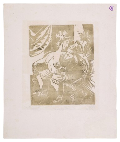 View 4. Thumbnail of Lot 60. Neun Holzschnitte (K. 23-31) (Nine woodcuts (K. 23-31)) .