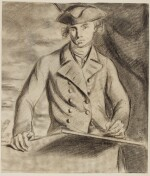 CHARLES GRIGNION   An artist at work, possibly a self-portrait