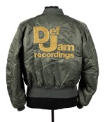 DEF JAM | ONE OF A KIND, NEVER PRODUCED PROTOTYPE JACKET, CA 1987-88