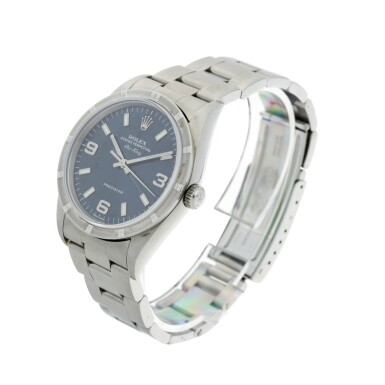 View 2. Thumbnail of Lot 274. REFERENCE 14010 AIR KING A STAINLESS STEEL AUTOMATIC WRISTWATCH WITH BRACELET, CIRCA 2006.