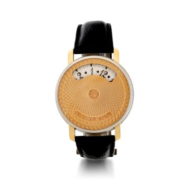 ANDERSEN GENEVE | MONTRE A TACT  A WHITE AND PINK GOLD AUTOMATIC DUAL APERTURE WRISTWATCH, CIRCA 2010