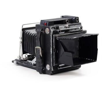 View 4. Thumbnail of Lot 3. Graflex Speed Graphic camera.