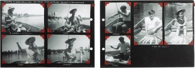 "View 5. Thumbnail of Lot 49. Sylvia Plath | Family photograph album (""The Hughes family Album""), 1957-1962."