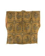 AN EXCEPTIONAL SILK SAMITE SHIRT WITH DUCKS, CENTRAL ASIA, SOGDIANA, 7TH-9TH CENTURY