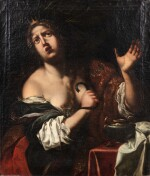 The suicide of Cleopatra