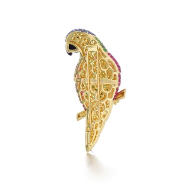 View 3. Thumbnail of Lot 15. MICHELE DELLA VALLE | GEM SET BROOCH.