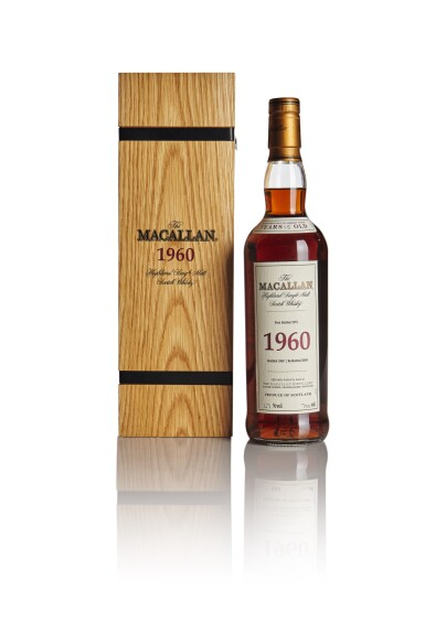 THE MACALLAN FINE & RARE 15 YEAR OLD 47.0 ABV 1960