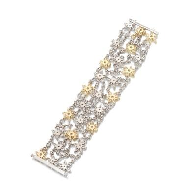 View 3. Thumbnail of Lot 15. Diamond bracelet.