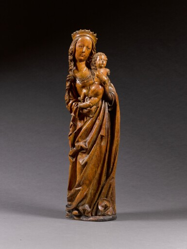 Circle of Tilman Riemenschneider (1460-1531), German, Franconia, early 16th century | Virgin and Child