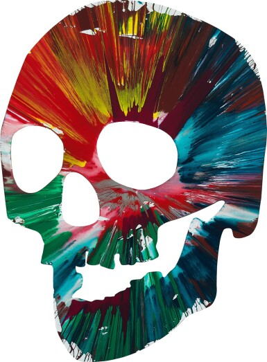 View 1. Thumbnail of Lot 4. Untitled (Skull Spin Painting) |  無題(骷髏旋轉畫).