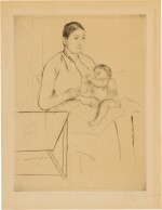 MARY CASSATT | NURSING (BREESKIN 135)