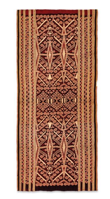 View 4. Thumbnail of Lot 22. Deux jupes, Indonésie, début du 20e siècle | Two skirts, Indonesia, early 20th century.