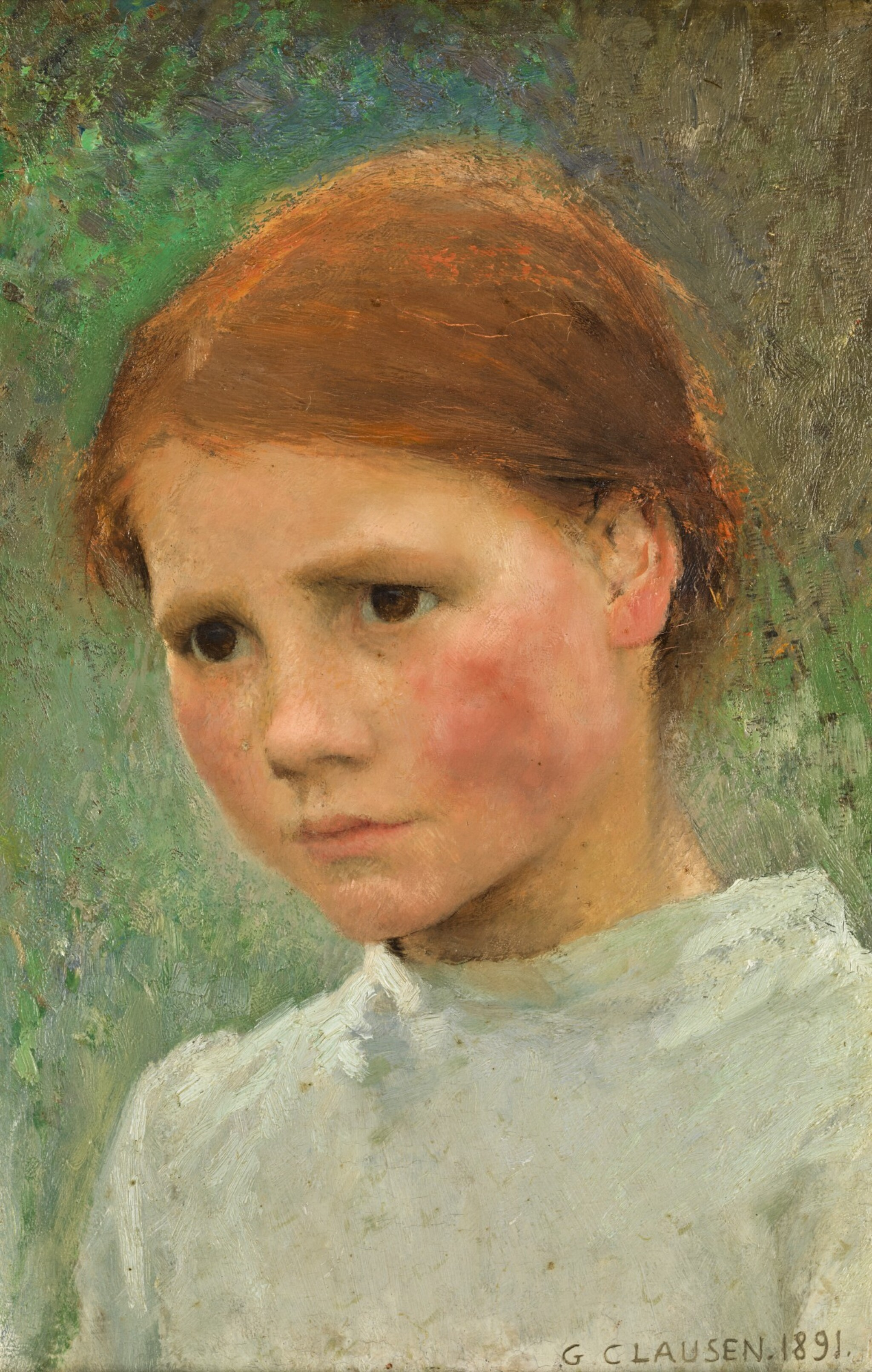 View 1 of Lot 1. Portrait of a Child, Rose Grimsdale.