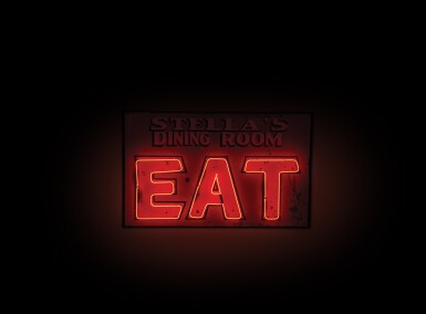 Eat at Stella's Dining Room Neon Sign