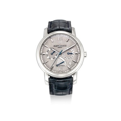 View 1. Thumbnail of Lot 101. VACHERON CONSTANTIN | JUBILEE 1755, REFERENCE 85250 A LIMITED EDITION PLATINUM WRISTWATCH WITH DAY, DATE AND POWER RESERVE INDICATION, MADE TO COMMEMORATE THE 250TH ANNIVERSARY OF THE BRAND, CIRCA 2005.