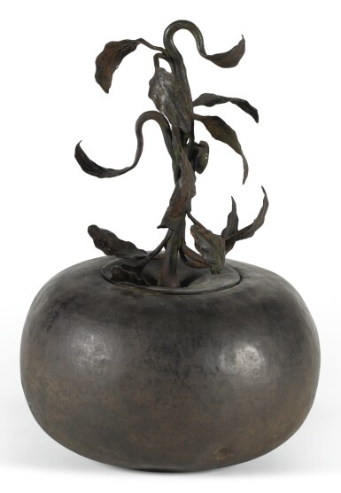 View 1. Thumbnail of Lot 1. PROBABLY SWISS, 18TH CENTURY | Sign in the Form of an Apple.