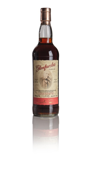 GLENFARCLAS JOHN GRANT'S BICENTENARY 1805 TO 2005  50 YEAR OLD 44.4 ABV 1955
