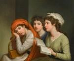 Triple portrait of Emma, Lady Hamilton (1765–1815), as the three Muses   《裝扮成三位繆斯的愛瑪・漢密爾頓夫人(1765–1815年)肖像》