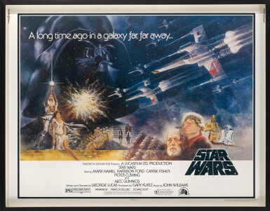 View 2. Thumbnail of Lot 115. STAR WARS (1977) POSTER, US.