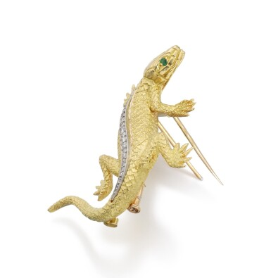 GOLD AND DIAMOND BROOCH | PIAGET