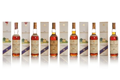 THE MACALLAN 18 YEAR OLD 43.0 ABV 1975
