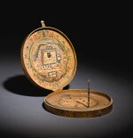 AN OTTOMAN QIBLA INDICATOR, TURKEY, 19TH CENTURY