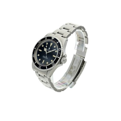 REFERENCE 5513 SUBMARINER A STAINLESS STEEL AUTOMATIC WRISTWATCH WITH BRACELET, CIRCA 1970