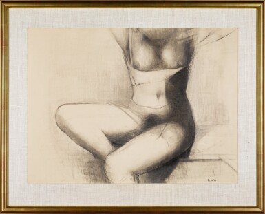 View 2. Thumbnail of Lot 680. REG BUTLER | UNTITLED (SEATED TORSO).