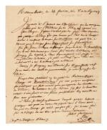 NEY   letter signed, to General Kléber, 1797